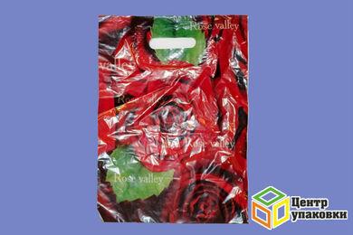 Пакет майка ПВД в ассотим.40-34 с вырубной ручкой 30мкр (1100050шт)