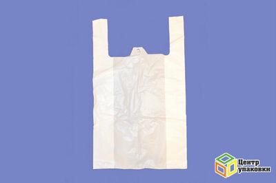 Пакет майка ПНД Кодак белая 42-70 (1500100шт)