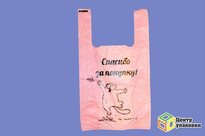 Пакет майка ПНД Кот С цветной  (13000100шт)