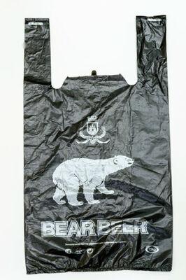 пакет майка ПНД медведь эко 30-54 (1-2500-100шт)сибпласт