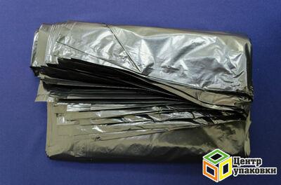 Мусорный пакет ПВД 120л 70-110 особопроч.35мкм (1-10-1рул -20шт)