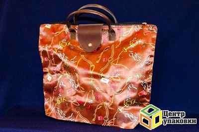 Пакет сумка 46-38+120 ЭКО склад. кошелек Атласная В40 (1120шт)