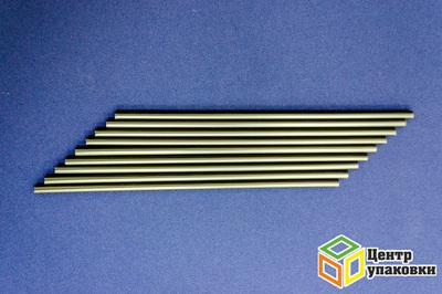 Трубочка Джамбо 0,8×24см черная (1-20-250шт.)