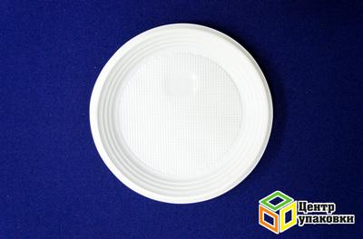 Тарелка Д 170 белая PP десертная (11800100шт) Сибпласт