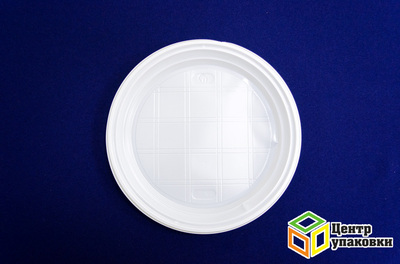 Тарелка Д 205 белая (1100050шт) Росспак