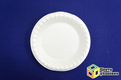 Тарелка Д 205 бел ВСП (11200100шт) фуршетная
