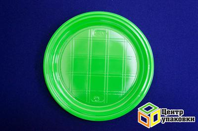 Тарелка Д 205 цв зеленая PS (11800100шт)
