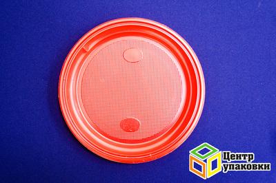 Тарелка Д 205 цв красная PS (11600100шт)