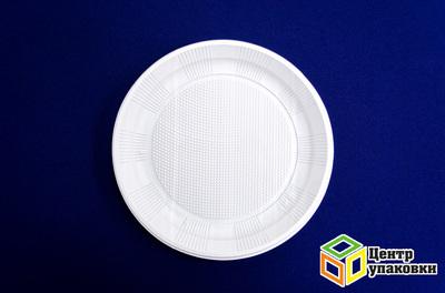 Тарелка Д 220 белая Оптиформ (11800100шт)