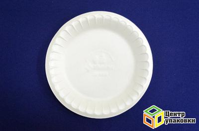 Тарелка Д 225 белая ВСП (11200100шт) банкетная