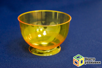 Креманка Кристалл 200мл оранжевая (1-192-16шт.)