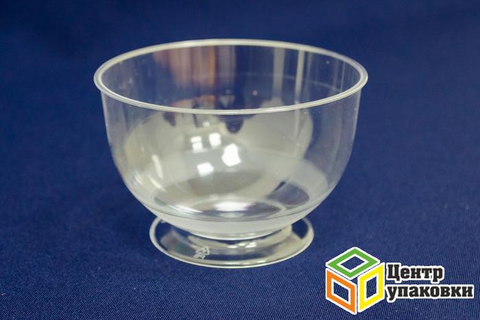 Креманка Кристалл 200мл прозрачная (1-192-16шт.)