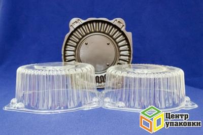 Емкость ПР-т-225 дно корич (1-250шт), крышка высокая (1-250шт), крышка средняя (1-250шт)