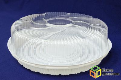 Емкость ПР-т-265 дно (1-100шт), дно пирог (1-100шт), Крышка пирог (1-100шт)