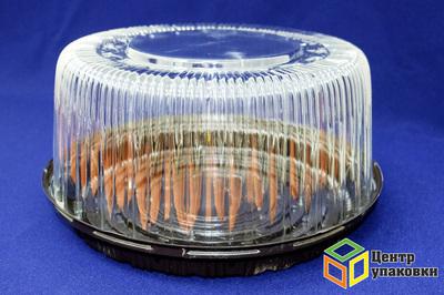 Емкость ПР-т-265 дно коричн (1-100шт), крышка А (1-100шт)