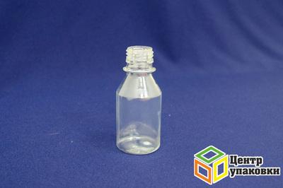 Бутылка ПЭТ-0,1л (1-50шт)