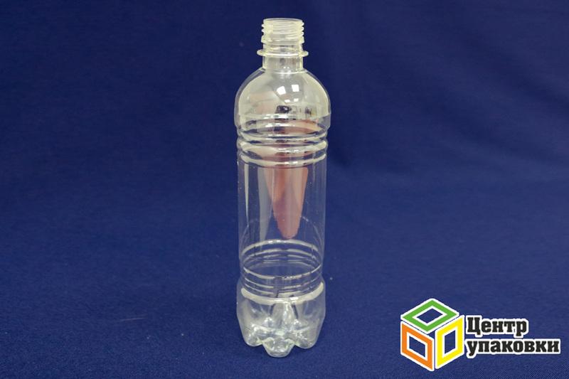 Бутылка ПЭТ-0,5л.(1-100шт)