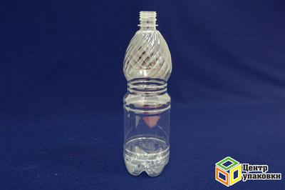 Бутылка ПЭТ-1л.(1-100шт)