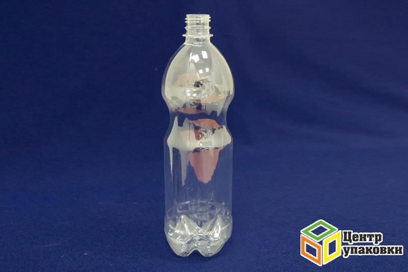 Бутылка ПЭТ-1л. молочная (гладкая) (1-50шт)