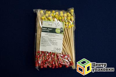 Пика бамбуковая Рио 12см (1-30-100шт.)