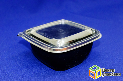 Контейнер СПК-1212-500 мл (ДНО чёрное)(150050шт)