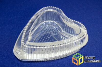 Емкость УК-201 (1-250шт) сердце маленькое