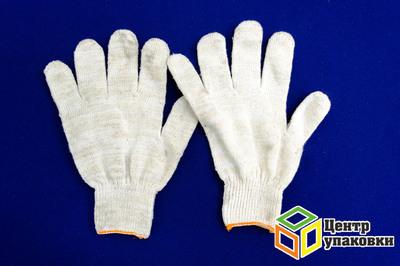 Перчатки ХБ 5 нитки без ПВХ (10-400)