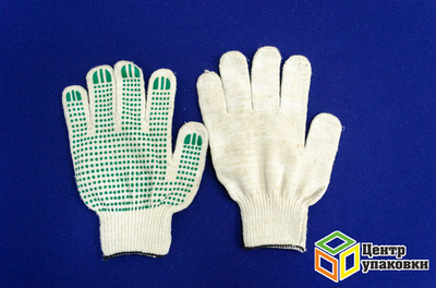 Перчатки ХБ 5 нитки с ПВХ