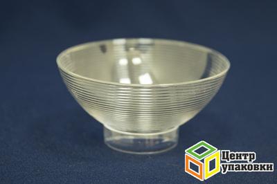 Форма Чаша макси ø110мм PS 250мл прозрачная (18-46шт.)