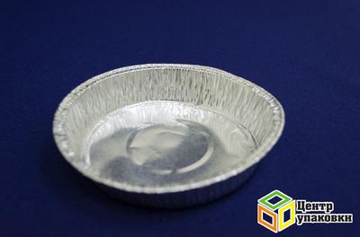 Форма алюминиевая круглая C109G D109 ø90мм, h21мм (1-100шт.)