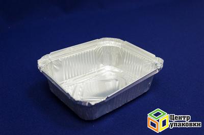Форма алюминиевая CukiR28L 530мл низкая (1-2100-100шт.)