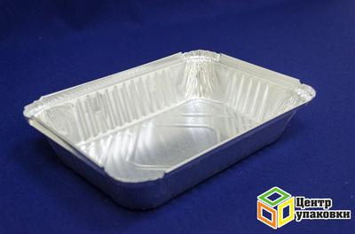 Форма алюминиевая CukiR84L 960мл низкая (1-1000-100шт.)