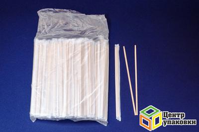 Палочки бамб для суши 200мм (1-2000-100шт) в пленке