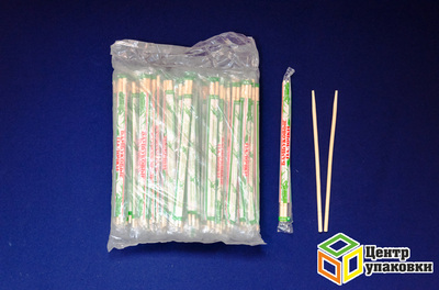 Палочки бамб для суши 230мм круглые ПЭТ (130-100шт)