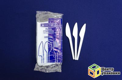 Нож белый 165мм (12500100шт) Мистерия