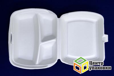 Ланч-бокс LB-3 АВТ (1100шт) белые