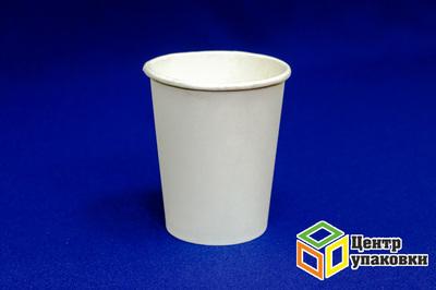 Стакан бумажный 200мл RPE дхол Белый (1-1000-50шт)