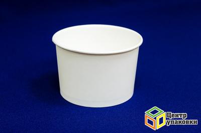 Стакан бумажный 290мл дморож Белые (1-912-38шт)