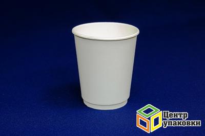 Стакан бумаж 250мл дгор  белый 2 сл (1-500-25шт)