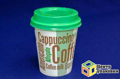Стакан бумаж 270мл дгор d-80 Coffee (1-1000-50шт)