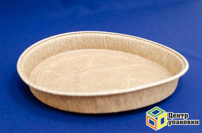 Форма бумажная для выпечки С-200-25Р-21820025 коричневая (1кор./ 660шт.)
