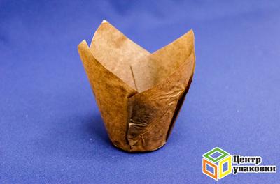 Форма бумажная для маффина Тюльпан 150×50мм (1-2000-200шт.)