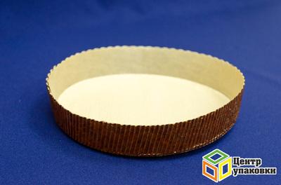 Форма бумажная для пирога 185×35мм СТ18535 (1-540шт.)