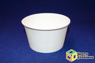 Чаша бумажная белая для горячего 500мл, ø121мм, h72мм (1-500-50шт.)