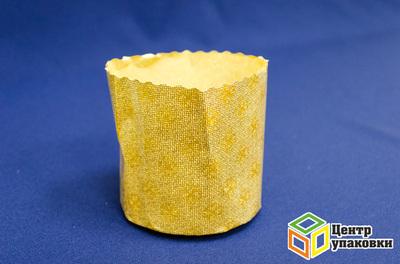 Форма бумажная Кулич CP 90×90×200мм (1кор./ 2400шт.)