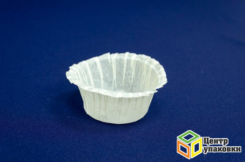 Форма бумажная белая OV4b (тарталетки 33-83-23) (1 кор. / 8 уп. / 1000 шт.)