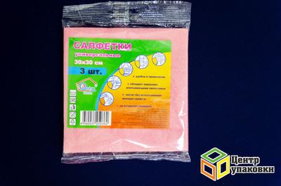 Салфетка вискозная Extrahome 30-30 (1-100-3шт)