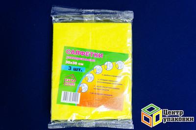 Салфетка вискозная Extrahome 30-38 (1-100-3шт)