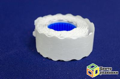 Этикетка волна белая 26×16мм (200шт.) (800шт.)