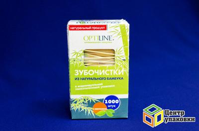 Зубочистки в инд. бумажной упак. (1-40-1000шт)